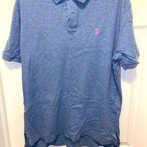 Blue/Lgt Pink Ralph Lauren Polo Shirt
